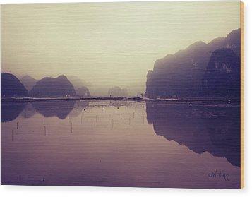 Ninh Binh Wood Print by Joseph Westrupp