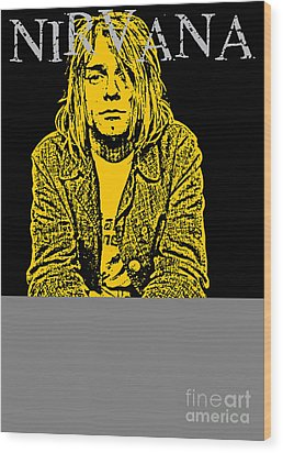 Nirvana No.07 Wood Print by Caio Caldas