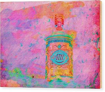 No 4711 Wood Print