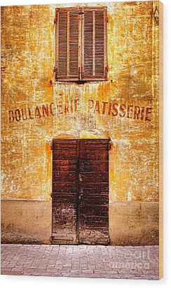 Wood Print featuring the photograph No More Bread by Olivier Le Queinec