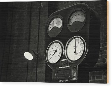 Wood Print featuring the photograph No Pressure by Tim Nichols