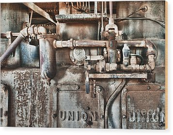 No Work For Me Wood Print by Sandra Bronstein