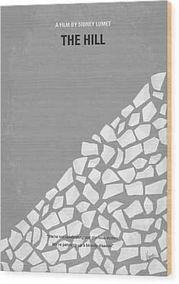 No091 My The Hill Minimal Movie Poster Wood Print by Chungkong Art