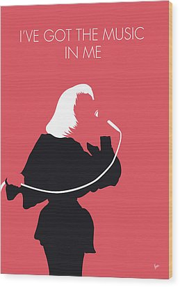 No092 My Kiki Dee Minimal Music Poster Wood Print