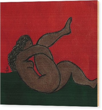 No.327 Wood Print by Vijayan Kannampilly