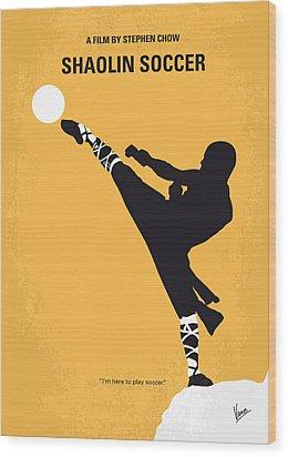 No480 My Shaolin Soccer Minimal Movie Poster Wood Print by Chungkong Art