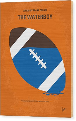 No580 My The Waterboy Minimal Movie Poster Wood Print