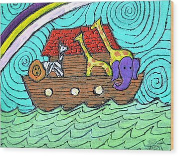 Noahs Ark Two Wood Print