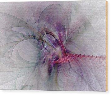 Nobility Of Spirit - Fractal Art Wood Print by NirvanaBlues