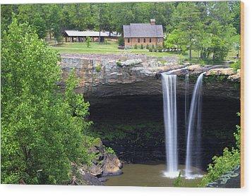 Noccolula Falls Gadsden Alabama Wood Print