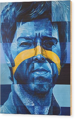 Noel Gallagher Wood Print