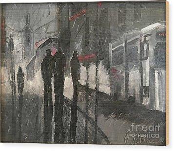 Noir Wood Print
