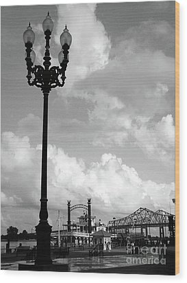 Nola Riverwalk Wood Print