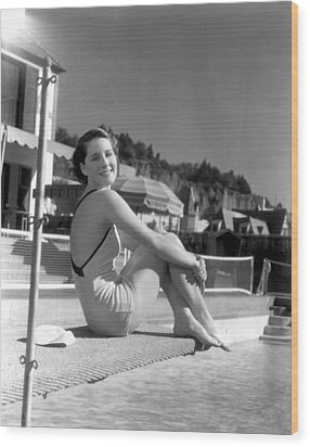 Norma Shearer, Mgm Photograph Wood Print by Everett