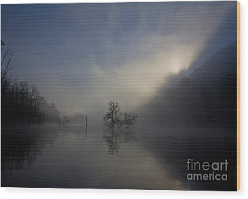 Norris Lake April 2015 Wood Print by Douglas Stucky