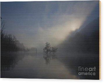 Norris Lake April 2015 Wood Print
