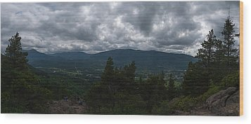 Wood Print featuring the photograph North Bend Washington Panorama by Joshua House
