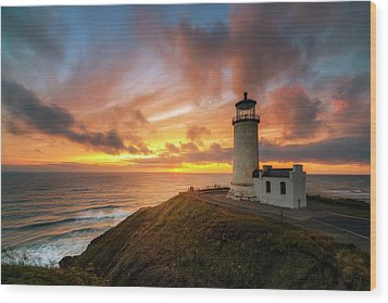 Wood Print featuring the photograph North Head Dreaming by Ryan Manuel