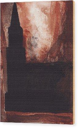 North Newark Church Wood Print