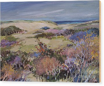 North Truro Dune Wood Print