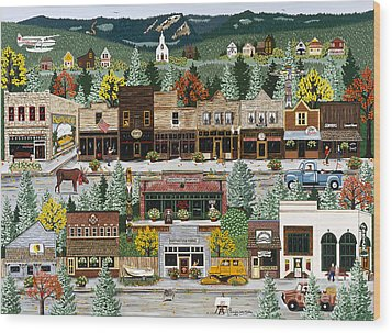 Northern Exposure Wood Print