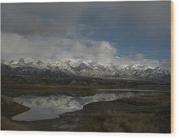 Northern Nevada Wood Print