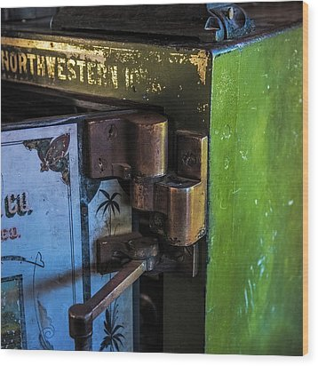 Wood Print featuring the photograph Northwestern Safe by Paul Freidlund