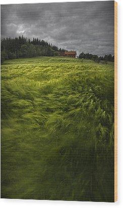 Norwegian Wave Wood Print