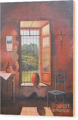 Nostalgia Wood Print
