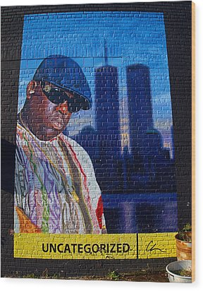 Notorious B.i.g. Wood Print