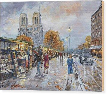 Notre Dame, Paris Wood Print