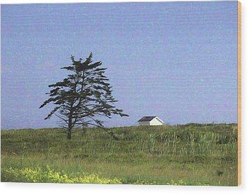 Nova Scotia Landscape Wood Print