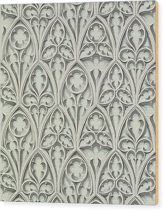 Nowton Court Wood Print by Augustus Welby Pugin