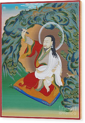 Nubchen Sangye Yeshe Wood Print