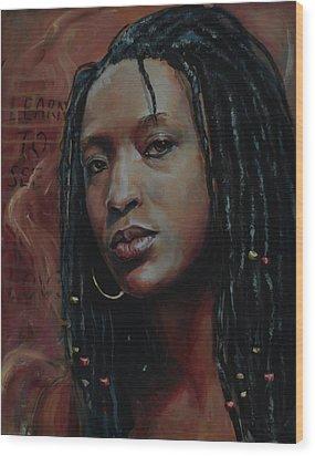 Nubian Dream 2.1 Wood Print