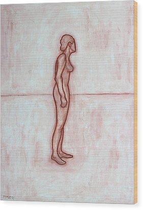 Nude 11 Wood Print by Patrick J Murphy