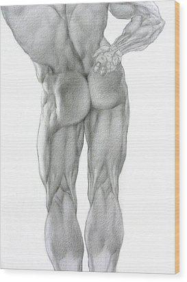 Nude 2b Wood Print by Valeriy Mavlo