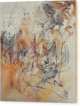 Nude 679070 Wood Print by Pol Ledent