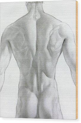 Nude 7a Wood Print by Valeriy Mavlo