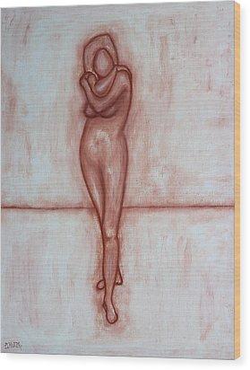 Nude 9 Wood Print by Patrick J Murphy