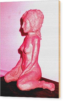Nude Wood Print by Bethwyn Mills