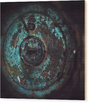 Wood Print featuring the photograph Number 6 by Olivier Calas