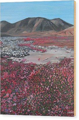 Nunavut Wood Print
