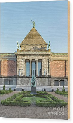 Wood Print featuring the photograph Ny Carlsberg Glyptotek In Copenhagen by Antony McAulay