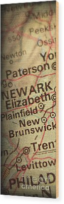 Nyc Enlarged - Left Panel Of 3 Wood Print by ELITE IMAGE photography By Chad McDermott