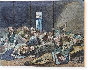 Nyc: Homeless, 1874 Wood Print by Granger