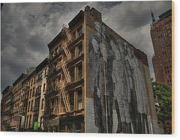 Wood Print featuring the photograph Nyc - Tribeca 001 by Lance Vaughn