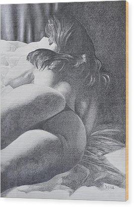 Nymph Wood Print by Desimir Rodic