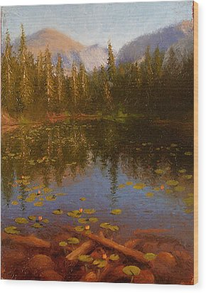 Nymph Lake Wood Print