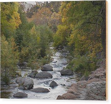 Wood Print featuring the photograph Oak Creek Canyon by Joshua House
